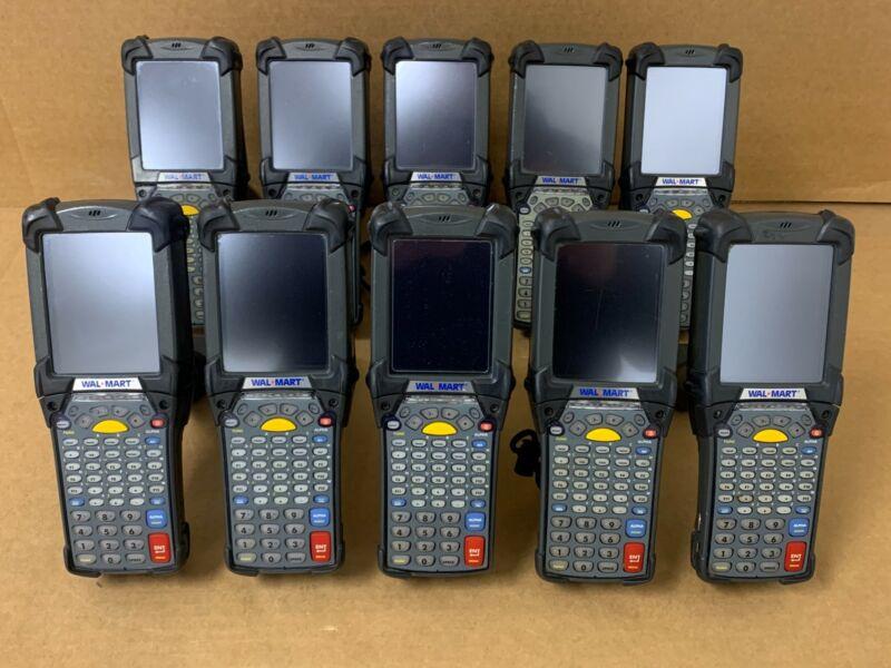 Lot 10x Motorola Symbol MC9190-G30SWSQA62R MC9190 Barcode Mobile Scanner MC9190