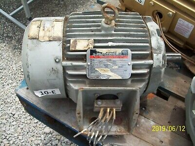 B444200 Reliance Electric Duty Master A-c Motor 3hp 440v 3-phase 1745 Rpm 3 Hp