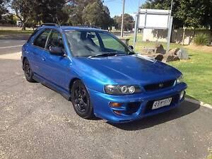 2000 Subaru Impreza RX Hatchback Melbourne CBD Melbourne City Preview