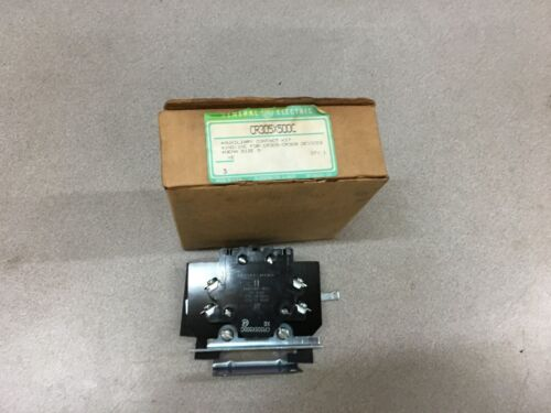 NEW IN BOX GE AUCILIARY CONTACT KIT CR305X500C