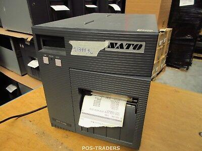 """SATO CL408E Parallel Thermo Label Drucker REWINDER 203dpi 4.1"""" 104mm - 21399.5 M"""