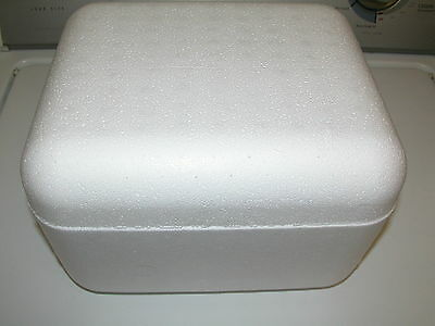 Styrofoam Shipping Container 11 X 9 X 7 12 Insulated Cooler Foam Box White