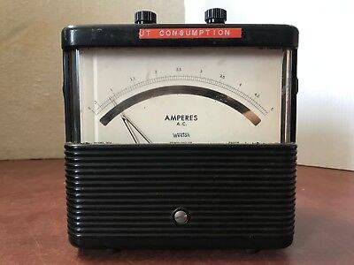Weston Model 904 Ammeter