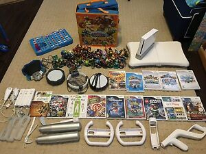 Wii system with games and accessories!!