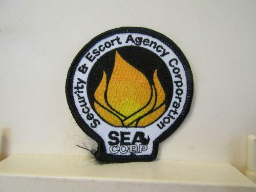 Sea Corp Security & Escort Agency Corporation patch new NOS RI Rhode Island?