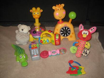 box 2 baby toys Dernancourt Tea Tree Gully Area Preview