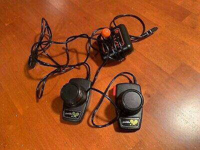 Atari 2600 Paddle Controllers (Pair) and Slik Stik