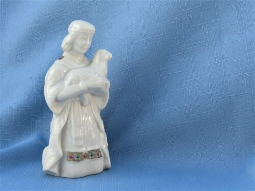 Lenox ~ Kneeling Shepard with Lamb ~ China Jewels Nativity ~ no box