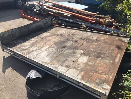 Steel tray to suit hilux, landcruiser, Patorl, falcon