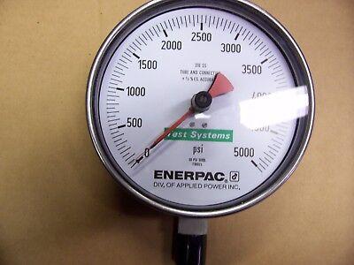 Enerpac T6002l Gauge 0-5000 Psi