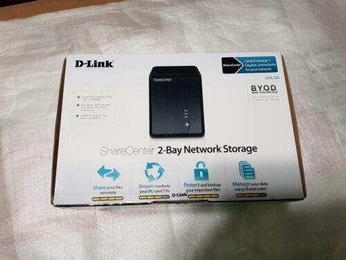 D-Link ShareCenter DNS-325 Dual 2-Bay Network Attached 323 Storage NAS Server