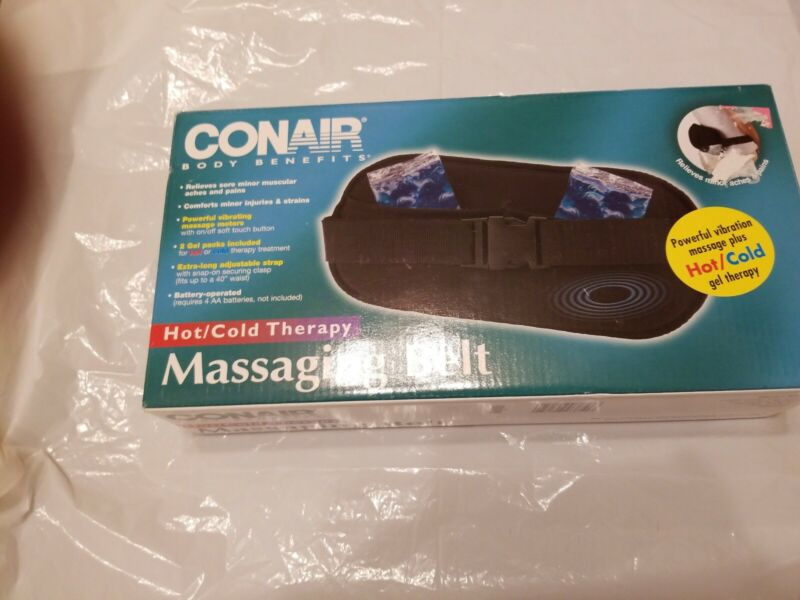 Conair BBG3 Massaging Body Belt Hot/Cold Therapy