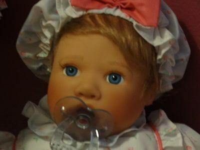 Lee Middleton Baby Doll with Pacifier 18 Inches 1996 Signed