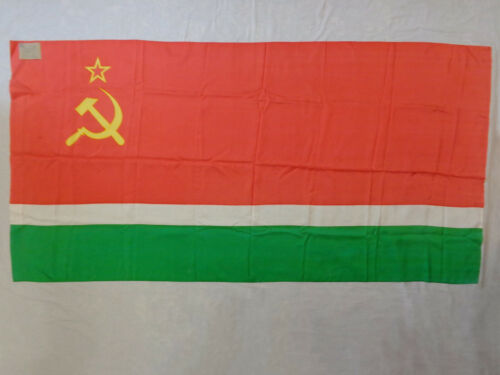 Vtg Flag of the Lithuanian Soviet Socialist Republic 1987 Lithuania Baltics USSR