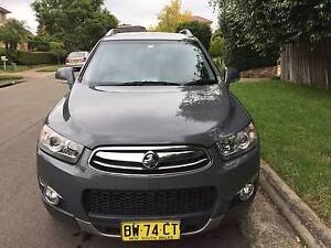 2011 HOLDEN CAPTIVA 7 LX (4X4)  CG SERIES II, DIESEL TURBO F/INJ Cherrybrook Hornsby Area Preview