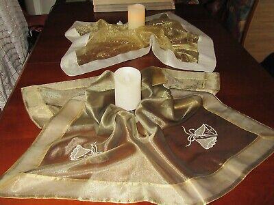 ihnachts-Tisch-decken- Mitteldecken mit Weihnachtsmotiven (Weihnachts-tischdecken)