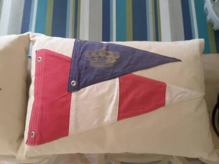 Nautical decorator cushions