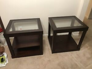 End table pair