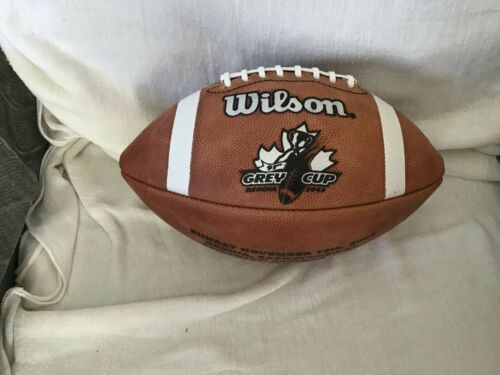 Wilson CFL game football. Grey Cup.