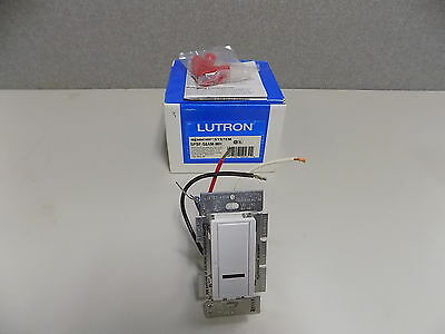 NEW Lutron Spacer SPSF-S6AM-WH Digital Dimmer Switch Lightswitch (white)