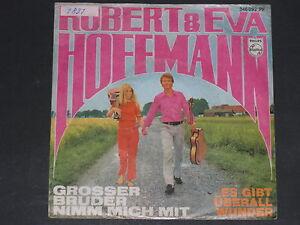 7-Single-Schlager-ROBERT & EVA HOFFMANN-Grosser Bruder nimm mich mit - Wien, Österreich - 7-Single-Schlager-ROBERT & EVA HOFFMANN-Grosser Bruder nimm mich mit - Wien, Österreich