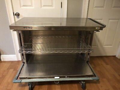 Metro Stainless Steel Cart Cabinet Restaurant Lab Medical Hospital Bar Free Ship