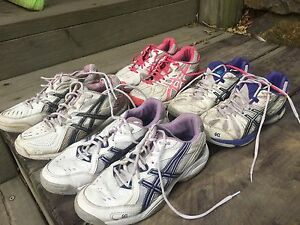 USED ASICS NETBALL RUNNERS Burleigh Heads Gold Coast South Preview
