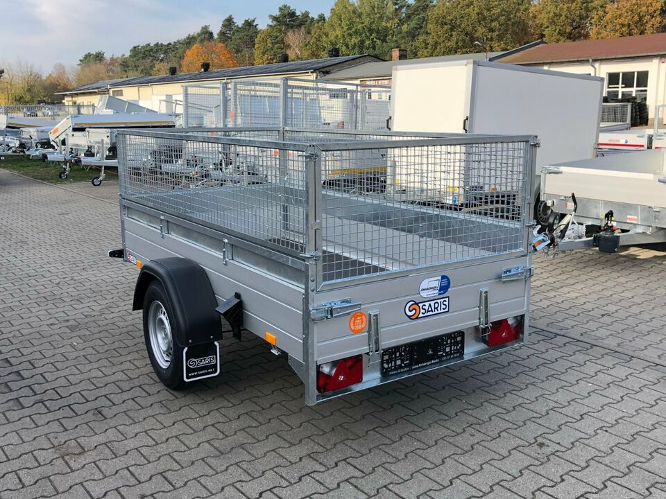 ⭐Anhänger Saris McAlu Pro DV135 1350 kg 255x133x43 cm Laubgitter in Schöneiche bei Berlin