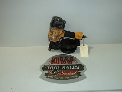 Bostitch N57c Coil Nailer Nail Gun 15 Degree Used Fencing Siding Decking
