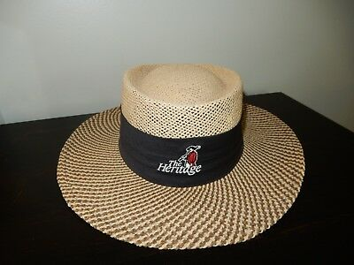 The Heritage Straw Golf Hat Ahead Headgear  Size S M b8d61aec10af