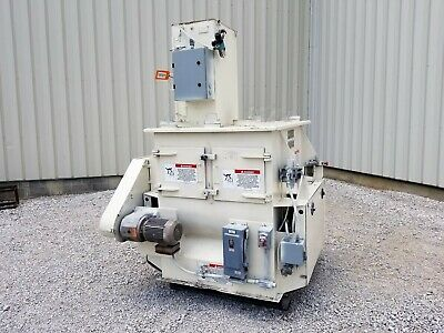 American Process Forberg Fluidized Zone Paddle Mixer - Model Fzm-12