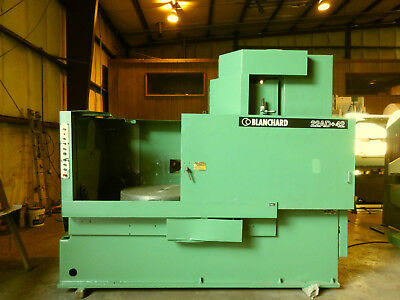 42 Blanchard Oerlikon Rotary Surface Grinder Model 22ad-42 Video Link Below