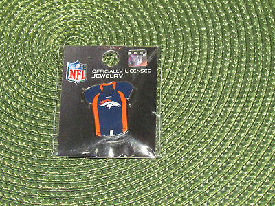 NFL Denver Broncos Football Blue Player Jersey Trading Pin Hat Lapel Pinback NEW ()