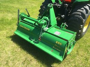 "For Sale 2011 55"" John Deere Roto-tiller"
