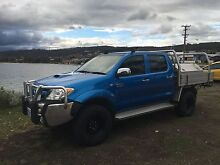 2006 Toyota Hilux SR5 4x4 dual cab Mornington Clarence Area Preview