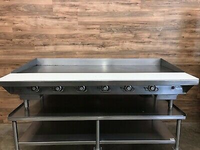 Vulcan 972re-ihop5 Chrome Top Griddle Natural Gas With Food Equipment Stand