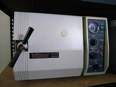 Tuttnauer 2340m Steam Sterilizer Autoclave