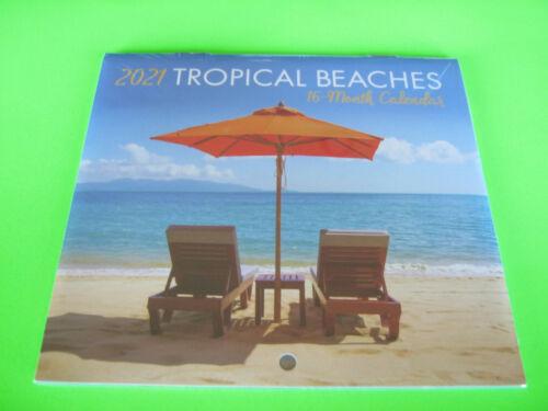 2021 Tropical Mini Calendar small Desk Hanging CALENDAR **See Store for More*