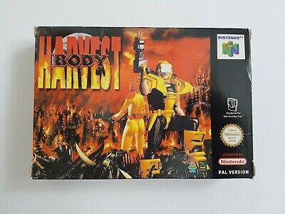 Body Harvest - Nintendo 64 N64 Game - [UKV PAL CIB] Boxed with manual
