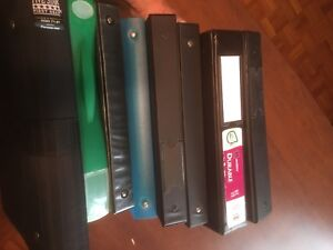 Cartables, binders, article scolaire