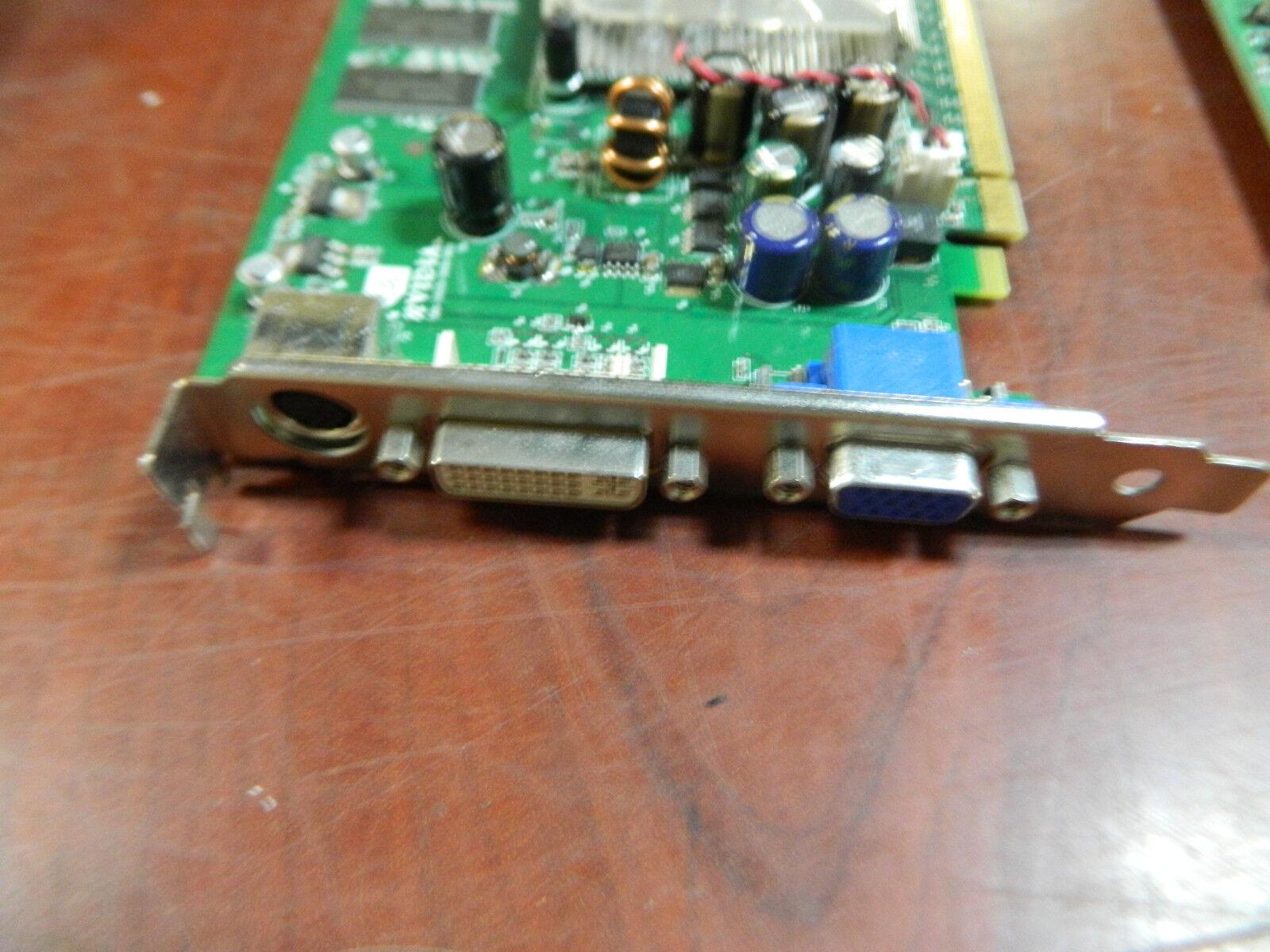HP NVIDIA QUADRO FX 540 PCI-EXPRESS 365889-001 374358-001 Video Card - $50.00