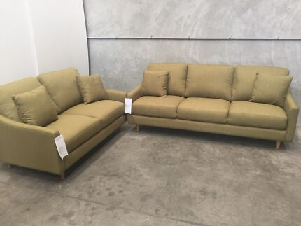 La-Z-Boy 2 + 3 Seat Sofa Lounge Suite Set - Brand New - Free Delivery