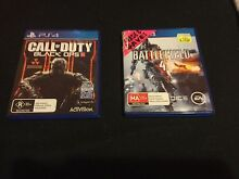 PS4 games: BO3 and Battlefield 4 Woodcroft Morphett Vale Area Preview