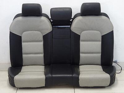 Audi S8 A8 4E Seatbelt Middle Centre Rear Back Seat Lordose Full Leather Valcona