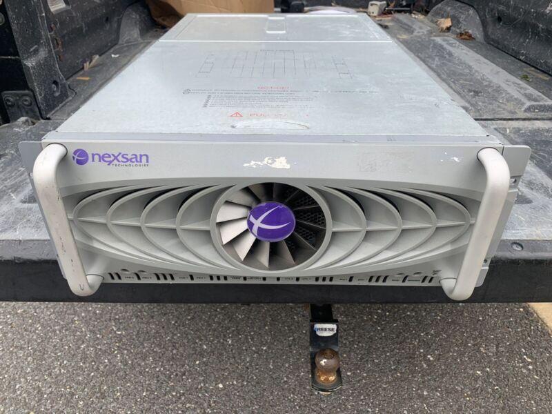 Nexsan SATABeast 42 Drive Capacity SAN Storage RAID No HDD