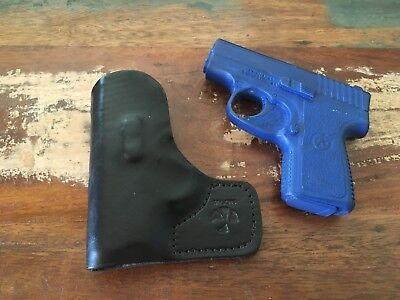 Hunting Pocket Holster Fits Kahr PM9 Crimson Trace Laser Wallet