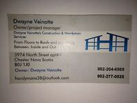 Need a roof done or siding etc.. Here to help