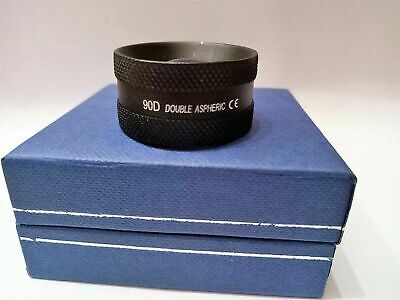 90d Double Aspheric Lens Ophthalmology Optometry With Case