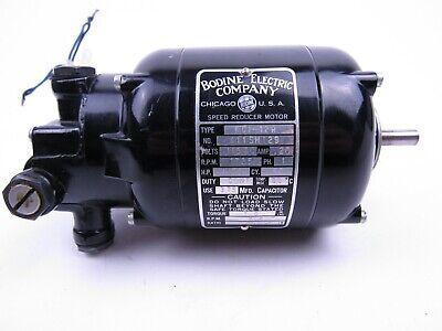 Bodine Electric Company Speed Reducer Motor Nci-12r