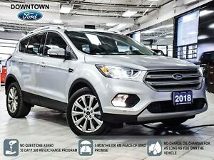 2018 Ford Escape Titanium   PWR LIFTGATE   PANO ROOF   SELF PARK
